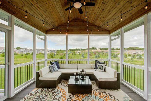 Covered Deck Ceiling Ideas 2