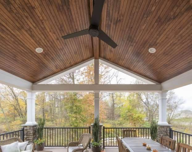 Covered Deck Ceiling Ideas 5