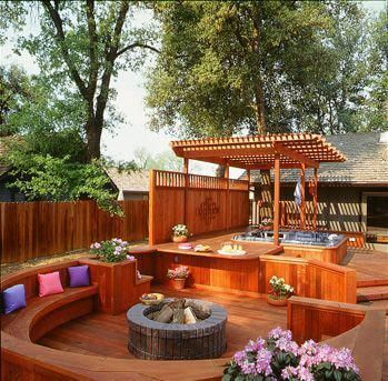 Decking Ideas With Hot Tubs 3