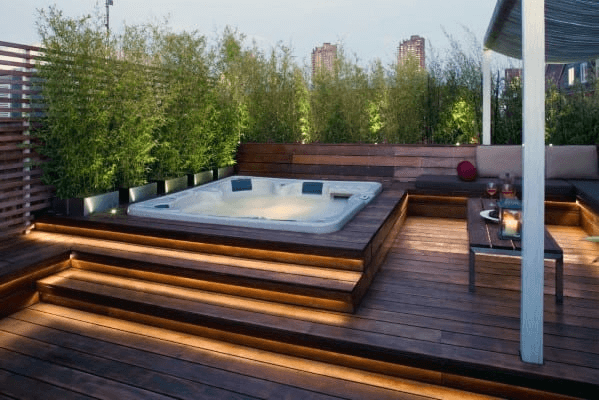 Decking Ideas With Hot Tubs 4