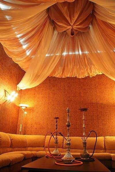 Hanging Fabric From Ceiling Ideas 2