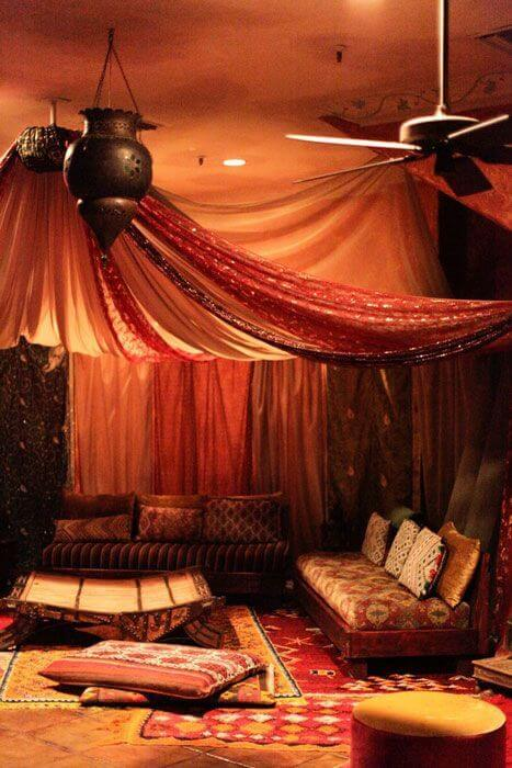 Hanging Fabric From Ceiling Ideas 4