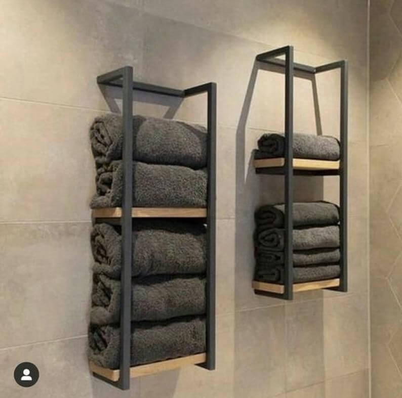 Ideas For Towel Storage In Small Bathrooms 3