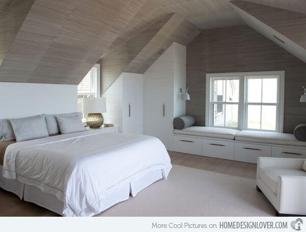 Low Vaulted Ceiling Bedroom Ideas 5