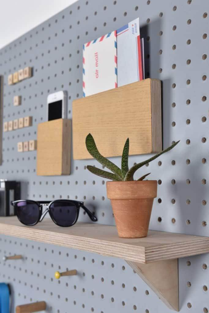 Pegboard Ideas For Bedrooms 1
