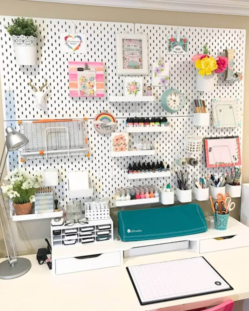 Pegboard Ideas For Bedrooms 3
