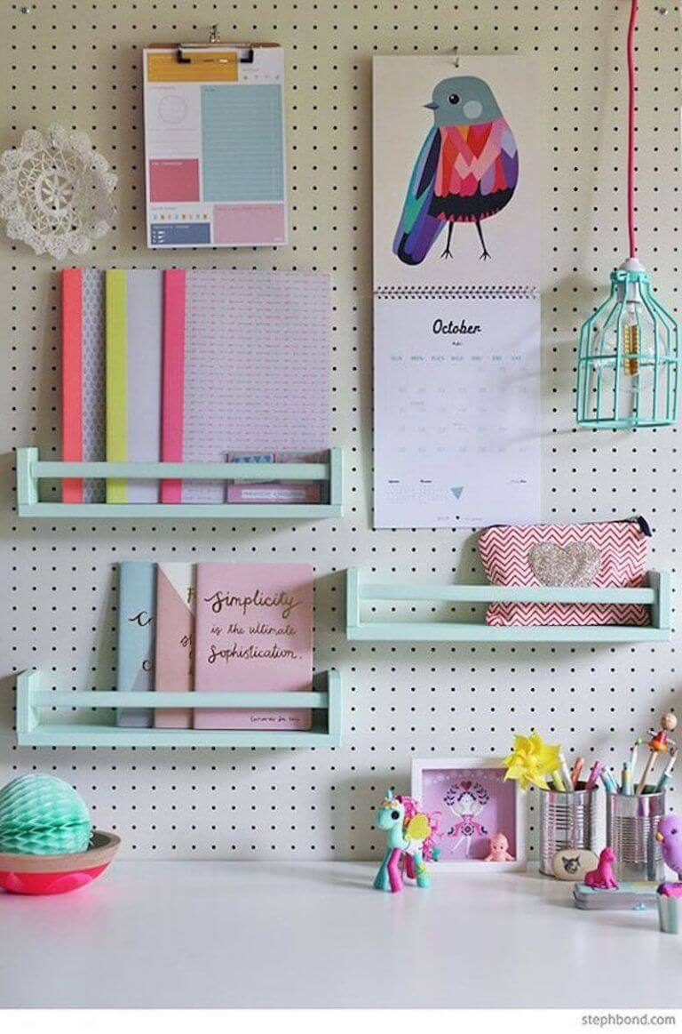 Pegboard Ideas For Bedrooms 5