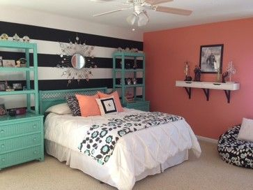 Teal And Coral Bedroom Ideas 3